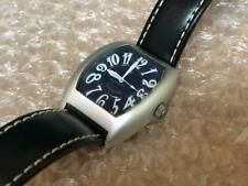 LANCASTER 0224 Watch Men's Aluminum Quartz Tonneau 3ATM