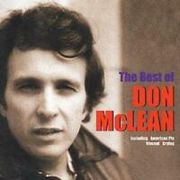 Don McLean : The Best of Don McLean CD (2001) Expertly Refurbished Product