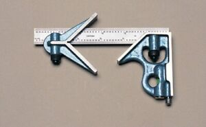 """6""""/150mm 3 PIECE COMBINATION SQUARE SET MADE IN USA!"""