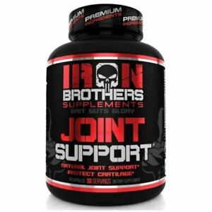 IRON BROTHERS JOINT SUPPORT CAPS| TURMERIC & GLUCOSAMINE FOR MAXIMUM PAIN RELIEF