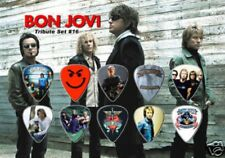 BON JOVI - A5 SIZE LIMITED EDITION - GUITAR PICK DISPLAY
