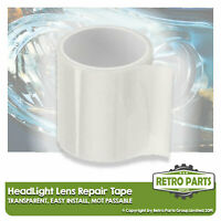 Headlight Lens Repair Tape for Classic Car.  Front Clear Light Lamp MOT Fix