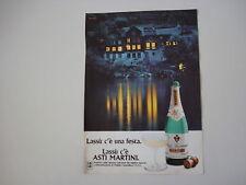 advertising Pubblicità 1978 SPUMANTE ASTI MARTINI