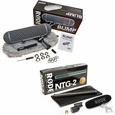 RODE Blimp Windshield System and NTG-2 Condenser Shotgun Microphone Package