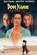 Don Juan de Marco (DVD, 1998) MARLON BRANDO JOHNY DEPP FAYE DUNAWAY  PG-13