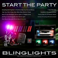 BlingLights Multi Color Xenon Head & Tail Lamp Strobe Light Kit w/ Speed Remote