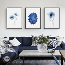Abstract Watercolor Canvas Painting Minimalist Wall Art Poster Print Home Decor