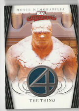 FANTASTIC 4 - MARVEL MASTERPIECES - THE THING COSTUME Card - FF4of5 - NrMt