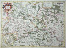 MERCATOR HONDIUS SAXONIAE SUPERIORIS LUSATIAE SACHSEN MEISSEN LAUSITZ 1627