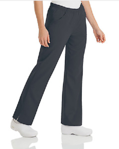 "Urbane Ultimate ""Alexis"" Nurses Scrub Pant 9306 Graphite  XXS-3XL   FREE Ship"