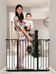 Regalo Easy Step 49-Inch Extra Wide Baby Gate Includes 4-Inch and 12-Inch Ext...