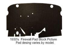 1929 Studebaker Dictator Firewall Pad