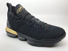 pretty nice b828d eac06 Nike LeBron 16 XVI Im King Black Gold Size 12 BQ5969-007