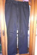 Sportscraft black jeans straight leg size 14
