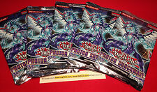5 x YuGiOh Photon Shockwave Booster Packs (9 Cards/pack) - Factory Sealed