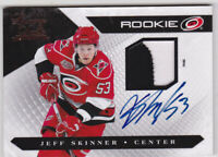 10-11 Luxury Suite Jeff Skinner /199 Auto Patch Rookie Hurricanes Sabres 2010