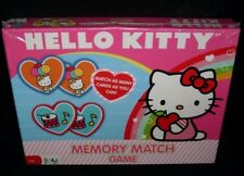 NEW HELLO KITTY SANRIO 100% COMPLETE MEMORY CARD MATCHING GAME SEALED TOY GIFT