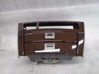 VP80205 02-05 BMW E65 745LI Center Dashboard Trim Console Radio Panel Wood OEM