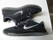 Nike Free 3.0 V4 Gr. 44 / US 10 / 28 cm - Nike # 511457-013 black gray