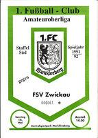 OL 91/92 1. FC Markkleeberg - FSV Zwickau, 10.05.1992