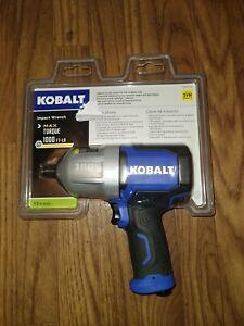 Kobalt 1000ft-lb impact driver 1/2 inch driver
