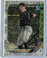 2019 Bowman Chrome Sparkle Refractor Parallel Mitch Keller 197/250 SP Pittsburgh