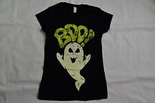 HALLOWEEN ORIGINALS BOO LADIES SKINNY T SHIRT NEW OFFICIAL FANCY DRESS PARTY