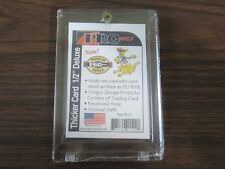 Pro-Mold # PC15 1 Screw Thicker Card Holder 50 pt, 1/2'' Deluxe New
