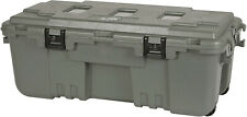 Xl Storage Box Wheeled Trunk 2 Lockable Latches Wheels Airline Approved 108 Qts