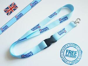Royal Air Force Lanyard Neck Strap for Keys ID Card Holder 20mm 52 cm