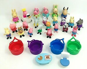 Peppa Pig And Friends Figure Lot Of 23