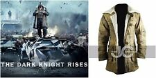 Dark knight Rises Bane Genuine Leather Buffing Trench Coat & Jacket