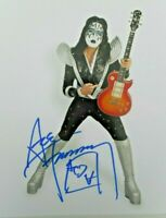 Ace Frehley Kiss  Hand Signed 8 x 10 Ace Frehley In Make Up  Autographed Florida