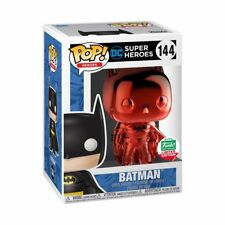 Funko Pop! DC Heroes: Red Chrome Batman Funko Shop Limited Edition *PRE- ORDER*