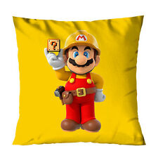 Super Mario Bros Maker Nintendo Games Decorative Throw Pillow Case Cushion 18""