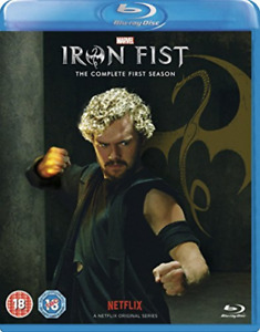 Marvels Iron Fist The Complete First Sea BLU-RAY NEW