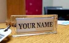 Personalized Name Lights Up Solar Powered Custom Name Key Chain With picture