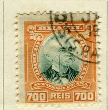 BRAZIL; 1906 early Penna Official issue fine used 700r. value