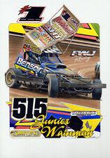 BriSCA F1 A3 size print of Frankie Wainman Jr No 515