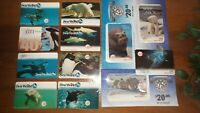 Prepaid Phone Cards GTI CompleteSeaWorld Collectors Series including Wild Arctic