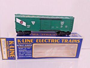 "K-Line Electric Trains O-Gauge Boxcar Pennsylvania RR ""No Damage"" K-6407 Train"