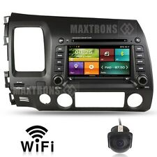 Car DVD Radio Stereo Navigation for Honda CIVIC 2006 - 2011 Free Camera