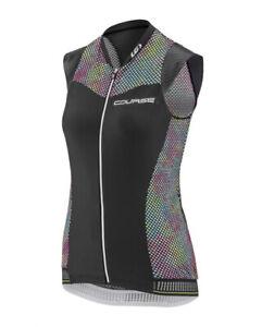 NWT Louis Garneau Course 2 Women's Sleeveless Cycling Jersey Pocket Reflective M