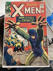 X-MEN #14 - Marvel Silver Age- Key 1st App Sentinels MCU