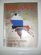 Beaux Arts Magazine N°259 BD Arts déco Veilhan Rembrandt Caravage Ribera