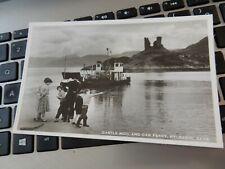 More details for  vintage postcard   p7   c41  kyleakin  ferry