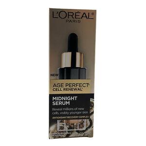 (New) L'Oreal Paris Age Perfect Cell Renewal Midnight Serum 30 ml