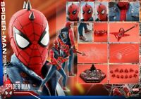 Hot Toys VGM32 PS4 1/6TH Spider-Man Spider-Punk Clothes Suit Soldier Figure Toys