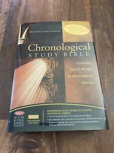 Chronological Study Bible Explore God's World in Historical Order NKJV Version