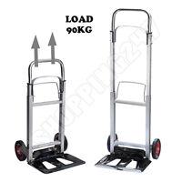 New Aluminium Folding Multipurpose Barrow Heavy Duty Sack Truck Cart Trolley